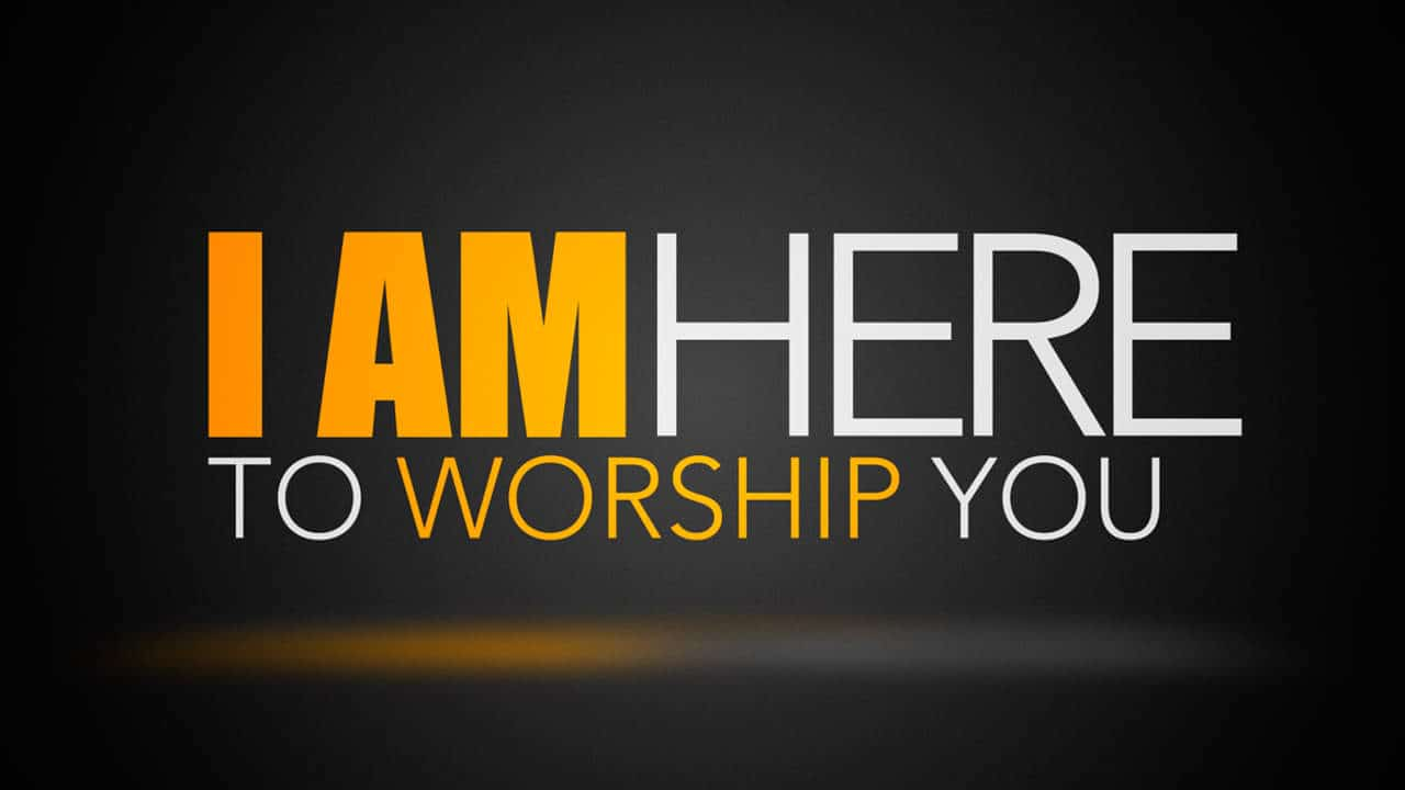 I Am Free To Run I Am Here To Worship Y...
