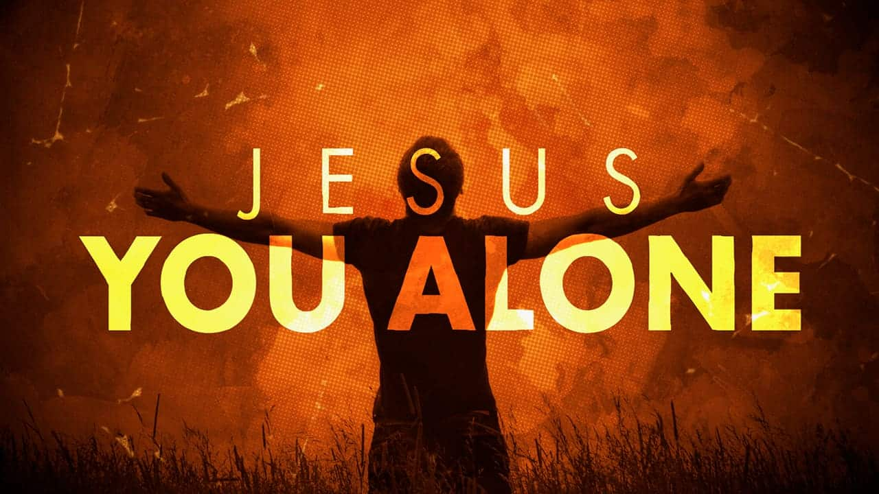 Jesus Alone Saves Forum